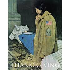marmont hill refugee thanksgiving by norman rockwell painting