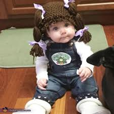 Halloween Costumes 3 Month Baby 25 Cabbage Patch Costume Ideas Homemade Baby