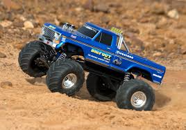 monster truck bigfoot traxxas