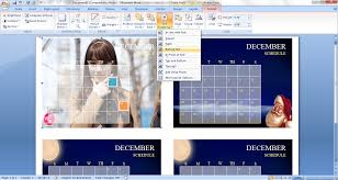 how to create a custom calendar in ms word 2007 guide reviews