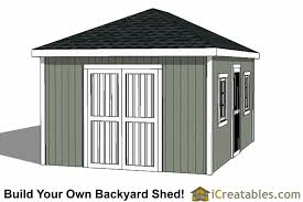 shed style roof 12x16 hip roof shed plans