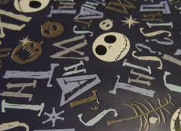 nightmare before christmas wrapping paper nightmare before christmas wrapping paper pictures to pin on