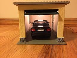 1 24 european garage lighted dx dioramas and accessories
