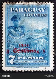1944 president postage stamp paraguay 1944 image u0026 photo bigstock