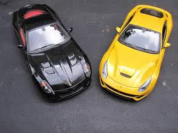 Ferrari F12 Yellow - ferrari f12 berlinetta in yellow by wheels elite diecast