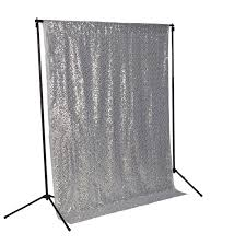 fabric backdrop sale silver sequin photo backdrop sequence wedding photo booth