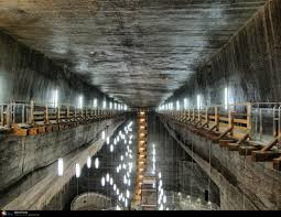 turda salt mine romania pictures futuristic beautiful landscapes