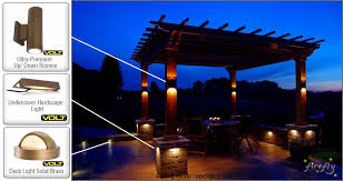 Outdoor Wall Sconce Up Down Lighting Hardscape Light Integral Lighting Wall Light Led Hardscape Light
