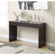 Console Table Hallway Convenience Concepts Northfield Espresso Color