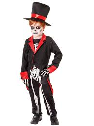 Skeleton Halloween Costume Kids Child Mr Bone Jangles Costume Cc942 Fancy Dress Ball