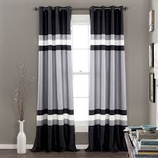 Single Window Curtain by Alexander Window Panel Set Walmart Com