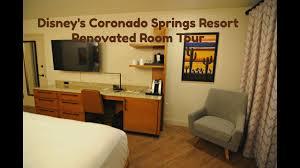 coronado springs resort room tour youtube
