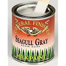 general finishes water based milk paint seagull gray gallon