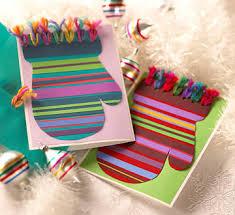 make christmas cards simple christmas cards kids can make