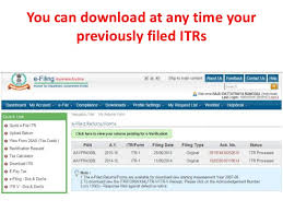 e filing e filing of income tax return