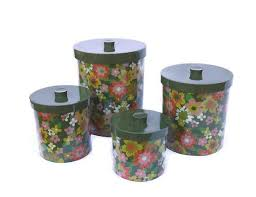 green canisters kitchen 82 best vtg kitchen misc canisters plastic images on