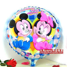 birthday delivery balloons 18inch baby girl boys balloon mickey and minnie birthday party