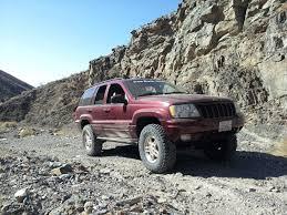 copper jeep cherokee jeep wj long arm suspension 4