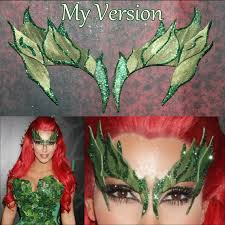 Poison Ivy Halloween Costume Diy Diy Poison Ivy Costume Eyebrows Poison Ivy Eyebrow Ivy