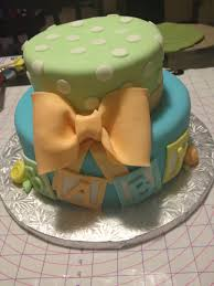 baby shower cake and cupcakes the jill of all trades