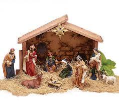 Home Interiors Nativity Amazon Com 9pc Holiday Nativity Set Home U0026 Kitchen
