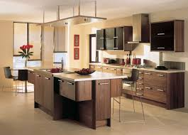 kitchen beautiful kitchen design ideas with brown wooden kitchen