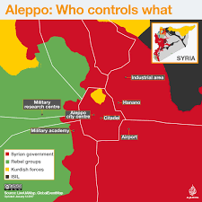 Maps Syria by Aleppo Who Controls What Syria Al Jazeera