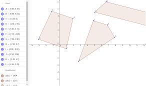 special quadrilaterals geogebra