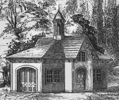 Victorian Garage Plans Southern Carriage House 1852 In The Italianate Style Backyard