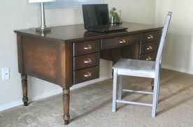 Free Plans To Build A Computer Desk by Ana White Turned Leg Traditional Desk Diy Projects