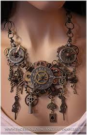 steampunk necklace vintage images Steampunk necklace steampunk jewelry clock necklace clock jpg