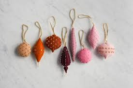 wool ornaments in new colors purl soho