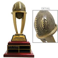 Fantasy Football Armchair Quarterback Trophy Midwest Awards Corporation Tower Resin Fantasy Football Trophy