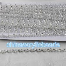 mesh ribbon wholesale factory wholesale 10yard roll diamond mesh ribbon bling rhinestone