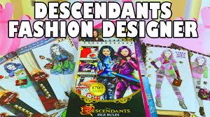 descendants design fashion sketchbook isle rules toy review