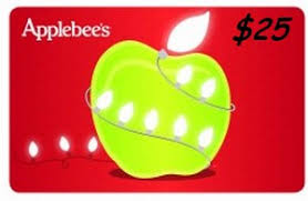 applebee s gift cards applebee s 25 gift card for only 20 free tastes