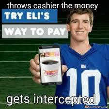 New York Jets Memes - eli intercepted meme