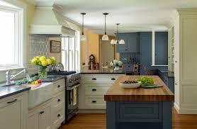 kitchen with butcher block island blue kitchen island with butcher block top oversized greige