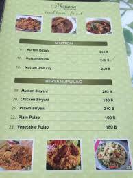 indian cuisine menu menu for indian food picture of mezbaan restaurant