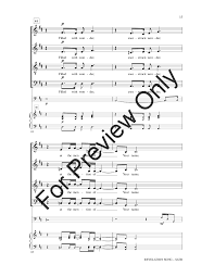 revelation song satb by jennie riddle j w pepper sheet