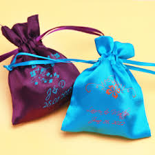 personalized party favor bags personalized satin favor bags favor bags favor packaging
