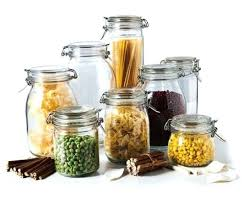glass canisters for kitchen kitchen storage jars glass glass storage bottles jars with lid