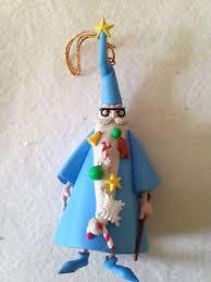 disney grolier magic merlin ornament sword in the