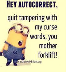 Autocorrect Meme - autocorrect archives minion quotes and memes memions com