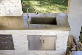 Best Sinks For Kitchen by Outdoor Kitchen Sink Lightandwiregallery Com