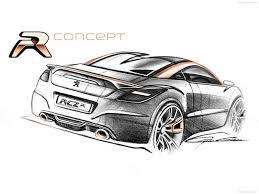 lamborghini logo sketch peugeot rcz r concept 2012 pictures information u0026 specs