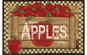 Kitchen Apples Home Decor Elegant Apple Kitchen Rugs Apple Kitchen Rugs Decor Sets Design