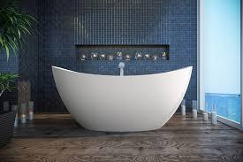 Composite Bathtub Aquatica Purescape 171 Freestanding Solid Surface Bathtub