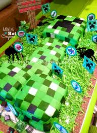 minecraft birthday party 25 minecraft birthday party ideas burnt apple
