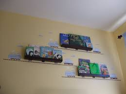 home decor tagged a train wall sticker bookshelf for a kid s room